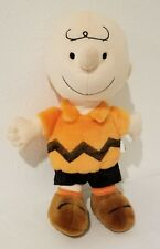 "Kohl'S Cares Peanuts Orange Charlie Brown 14"" Plush"