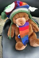 NWT $40.00 GUND Lord &Taylor Exclusive Collector Stuffed Plush Brown Bear 17""