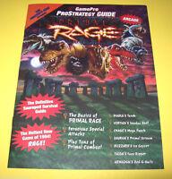 Atari PRIMAL RAGE Original NOS Video Arcade Game Pro Strategy Guide Magazine