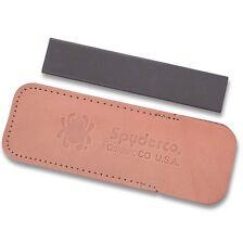 Spyderco Pocket Stone Knife Sharpener Medium Grit Ceramic Pocket Stone Made USA