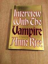 Interview with the Vampire The Vampire Chronicles Anne Rice - SIGNED + Pic