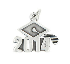 STERLING SILVER CLASS OF 2014 GRADUATION CHARM OR PENDANT