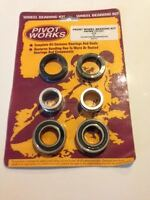 KTM SX 125 200 250 300 380 400 520 PIVOT WORKS FRONT WHEEL BEARING KIT