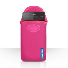 Caseflex móviles accesorios para diferentes Sony teléfonos Neopreno Bolsa Funda