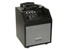ENCEINTE HAUT PARLEUR PORTABLE AMPLIFICATEUR 50W MAX IPOD IPHONE BATTERIE/220V