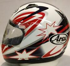 Arai Astro/J Broc Parkes 2 Star Red motorcycle helmet Astral XS Sm Md Lg