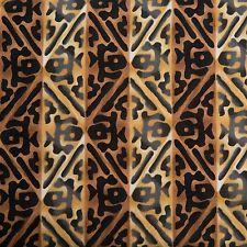 Michael Miller Fabric Tiki Woodblock  DC5012-MACN-D BTY