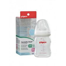 NEW Baby Kids Childrens Pigeon Peristaltic Plus Bottle 160mL (PP) SS Teat