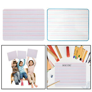 Dry Erasing Domination Wrap l 9 x 12 inch Lining Interactive White (Double-sided