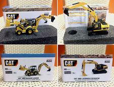 HO scale Cat 320D L Hydraulic Excavator + 450E Backhoe Loader, DM Model, 2 Units