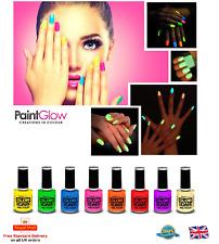 GLOW IN THE DARK Nail Neon Nail Polish Lot