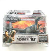 Jurassic World Velociraptor BLUE Attack Pack Figure Dinosaur Mattel NEU