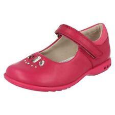 Chaussures babies rose en cuir pour fille de 2 à 16 ans