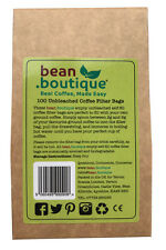 bean.boutique (100 5cm x 7cm) UNBLEACHED paper COFFEE Filter BAGS – Free Post