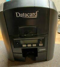 Datacard CD800 ID Card Maker Thermal Printer W/ Power Adapter