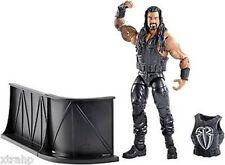 "WWF WWE  Mattel Wrestling Elite ROMAN REIGNS 6"" superposeable boxed figure toy"