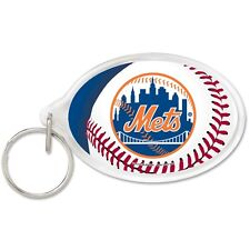 NEW YORK METS WINCRAFT ACRYLIC KEY RING BRAND NEW FREE SHIPPING