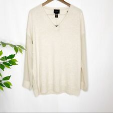 Magaschoni Long Sleeve Silk Pullover Whisper Camel
