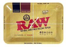 RAW Small Tray + Raw Kingsize Papers, Mat, Tips, Sachet & Tobacco Tin