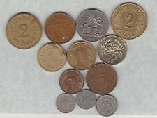 More details for 12 coins from iceland 1940 to 2005 in very fine or better condition .
