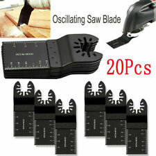 20 Saw Blade Oscillating Multi Tool For Dewalt Fein Bosch Milwaukee Porter Cable