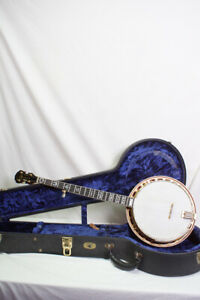 1978 Gibson RB800 Mastertone 5 string Banjo - Includes Archtop Hardshell Case