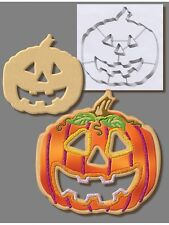 """GIANT PUMPKIN 7.5"""" COOKIE CUTTER WITH CUT-OUTS FROM R&M INTERNATIONAL"""