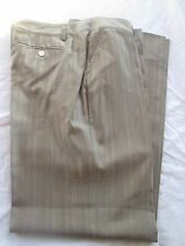 Men's KITON Napoli Grey 64% Wool Dress PANTS Slacks EUC Size 50 Made in Italy