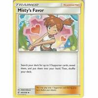 202/236 Misty's Favor | Uncommon Trainer Card | Pokemon SM11 Unified Minds TCG