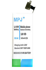 MPJ 1420MAH HIGH CAPACITY REPLACEMENT EXTENDED BATTERY FOR APPLE IPHONE 4S 4GS