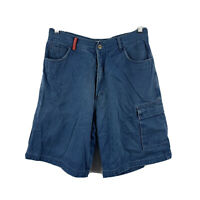 Quiksilver Mens Denim Shorts Size 32 Blue With Pockets
