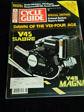 Cycle Guide June 1982-Special Edition- Dawn Of The Vee-Four Age