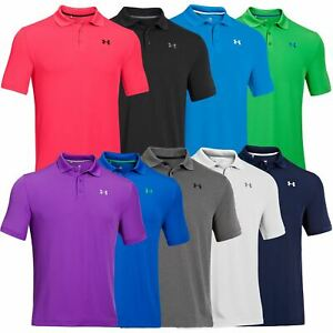 Mens Under Armour Performance Polo Golf Shirt M L XL 2XL 3XL 4XL 1242755 DEFECT