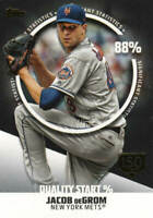 JACOB deGROM 2019 Topps SERIES 2 SIGNIFICANT STATISTICS 150TH GOLD SS-25 146/150