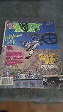 OLD SCHOOL BMX BMX ACTION MAGAZINE OCT 1987 NORA CUP CALIFORNIA ISSUE VINTAGE