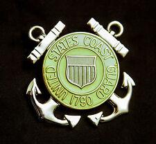 Us Coast Guard Enlisted Garrison Cap Badge