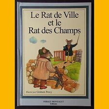 LE RAT DE VILLE ET LE RAT DES CHAMPS Graham Percy 1998
