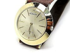 LE-COULTRE Classic Solid Yellow Gold 14k. Men Size Mechanical Watch