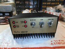 10 Meter Mobile Amplifier-Working