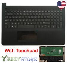 HP 15-BS 15-BW 15-BS020WM Upper Palmrest Case W Keyboard Touchpad 925008-001 USA