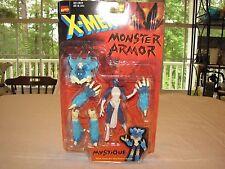 Mystique X-Men Monster Armor Action Figure Snap-On She-Beast Armor MOC Toy Biz