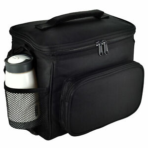 Men Women Insulated Lunch Bag Reusable Leakproof Refrigerated Lunch Box 10L Bag