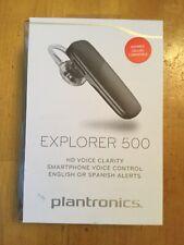 Plantronics Explorer 500 Bluetooth 4.1 Headset A2DP HD Voice Clarity Black SZ