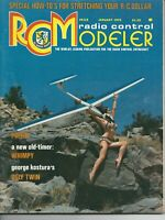 RC Modeler Magazines January 1975 Very Condition