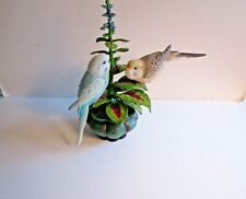 """From The Danbury Mint: """"Everlasting Devotion"""" By Bob Guge-2 Parakeets"""