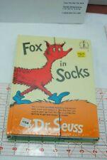 NEW Children's Books Lot of 3 Dr. Seuss  Fox in Socks Hop on Pop BEARS PICNIC