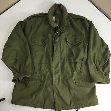 Vtg 70's So-Sew VIETNAM War Men Military M-65 FIELD Coat US ARMY USAF Jacket M