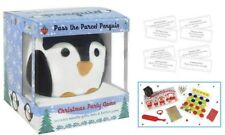 2 x PENGUIN PASS THE PARCEL PARTY GAME INCLUDES NOVELTY GIFTS CRACKER KIDS HATS