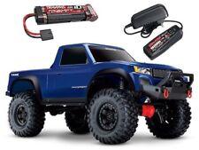 TRAXXAS trx-4 Sport - 1/10 scale Crawler RTR BLU + batteria + caricabatteria #82024-4-bs