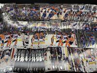 Edmonton Oilers 140 Card Base Lot Draisaitl Upper Deck OPC Platinum